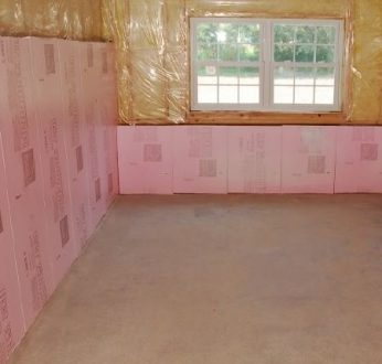 how basement insulation works
